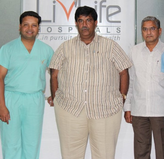 D.K Bharath Simha Reddy At Livlife Hospitals