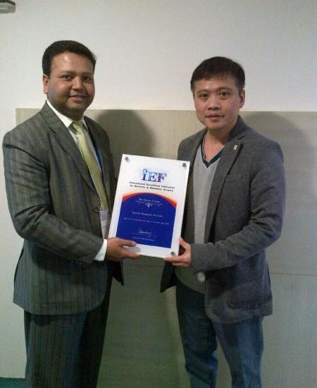Livlife Hospitals - IEF Certificate