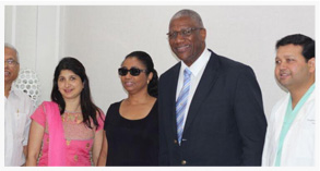 Sir Rodney Williams At Livlife Hospitals
