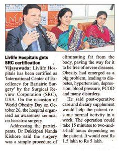 Livlife hospitals gets SRC certification