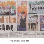 Anti-obesity walk