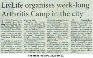 Livlife Arthritis Camp