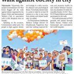 Anti-obesity walk in Vijayawada