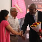 Sir Rodney Williams visits to Livlife Hospital