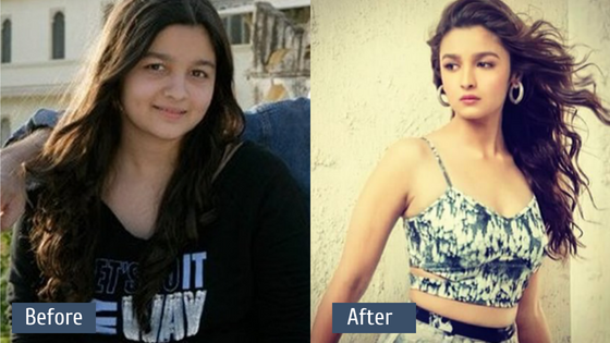 Alia Bhatt Transformation - Inspiration for Weight Loss.