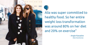 Alia Bhatt Transformation was a huge success all thanks to her dedication towards weight loss