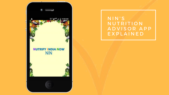 NIN's Personal Nutrition Advisor App LivLife